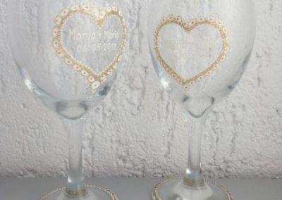 Čaše za vjenčanje