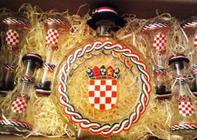 Poklon hrvatski grb